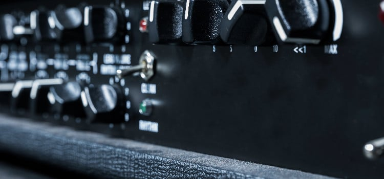 how to stop guitar amp from picking up radio