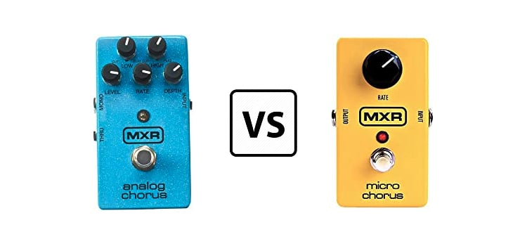 mxr analog chorus vs micro chorus