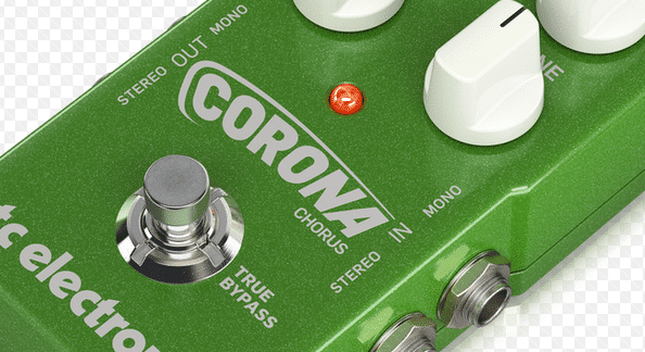 tc electronic corona chorus pedal review