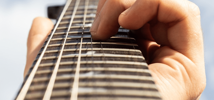 what are guitar frets made of