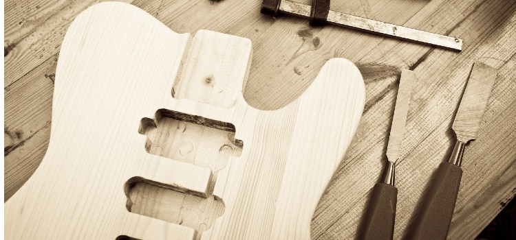 where to learn how to build a guitar