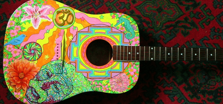how to paint your guitar