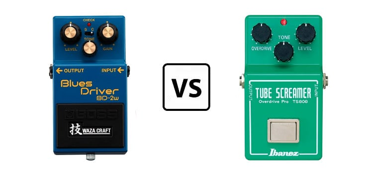 blues driver vs tube screamer