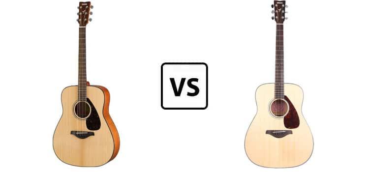 yamaha fg700s vs fg800