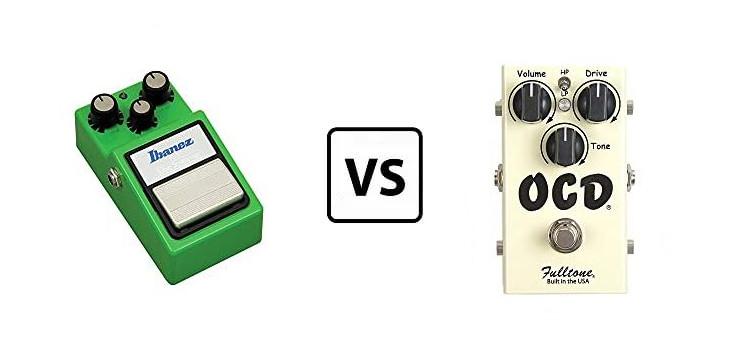 tubescreamer vs ocd
