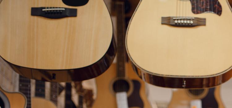 cedar vs spruce acoustic guitars