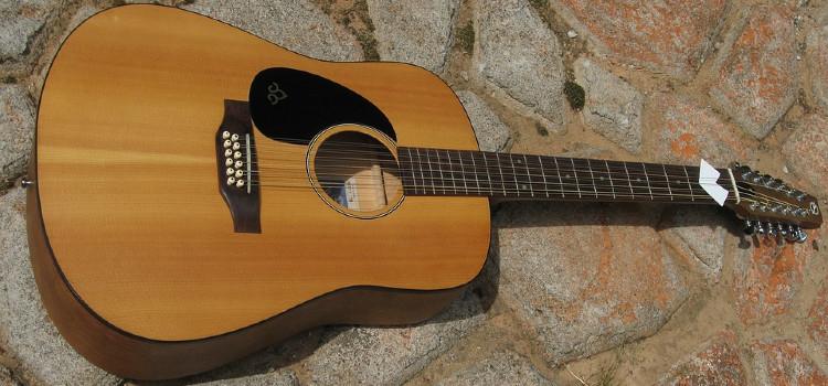 12 string guitar notes