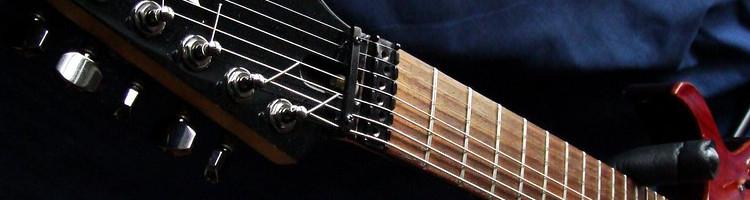 7 string guitar weight