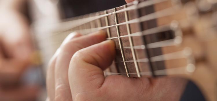 guitar finger blisters