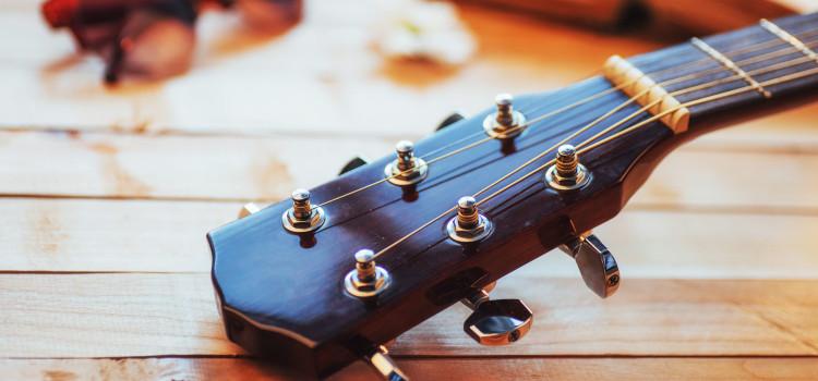 lubricate guitar nut